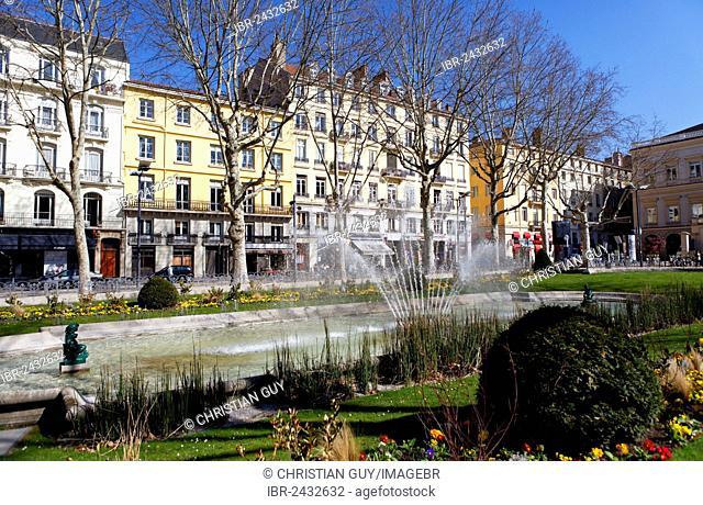 Place Jean Jaurès square, Saint Etienne, Loire, Rhône-Alpes, France, Europe