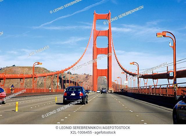 Golden Gate Bridge  San Francisco, California, USA