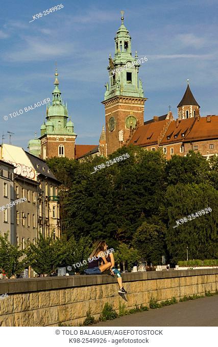 castillo y colina de Wawel, Kraków, Lesser Poland Voivodeship, Poland, Eastern Europe
