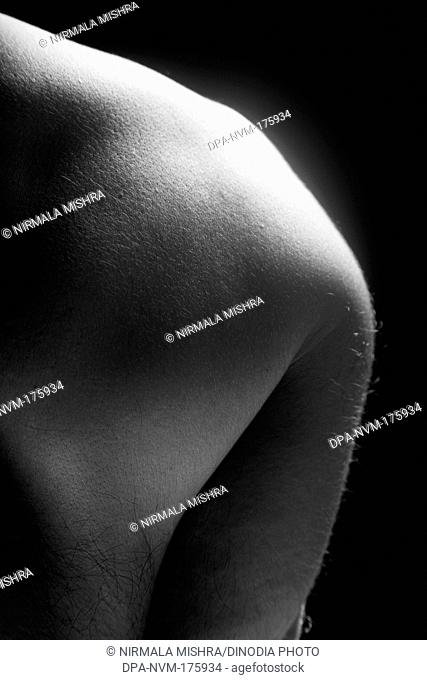 Human form abstract body part  ; India MR201 23-October-2009