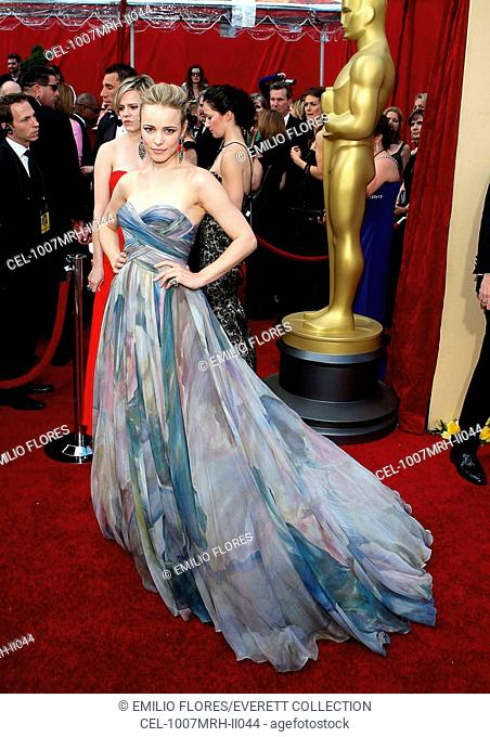 Rachel McAdams (wearing an Elie Saab couture gown) at arrivals for 82nd Annual Academy Awards Oscars Ceremony - ARRIVALS, The Kodak Theatre, Los Angeles