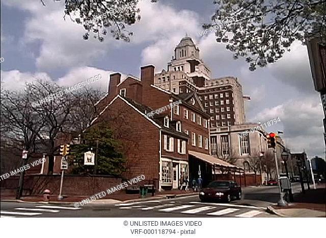 Old & new Philadelphia PA