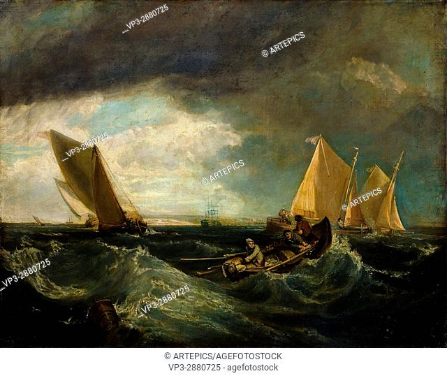 Augustus Wall Callcott - Sheerness and the Isle of Sheppey (after J. M. W. Turner)