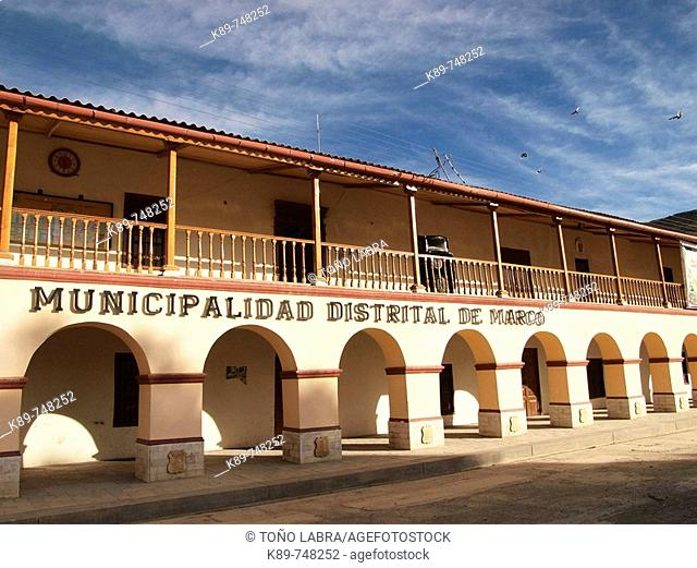 Marco Town Hall, Huancayo District, Perú