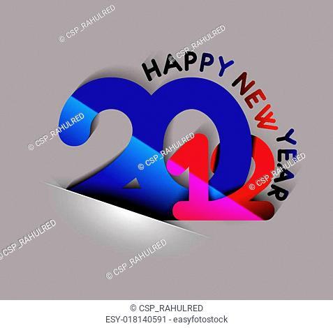 New year 2012 design