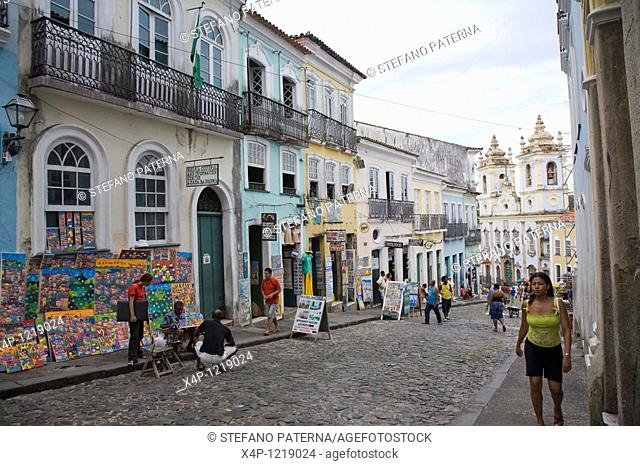 Largo do Pelourinho. Salvador, Brazil