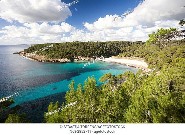 Cala Trebaluger, Menorca, Balearic Islands, Spain