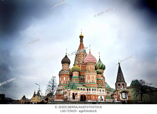 St. Basil's Cathedral. Red Square. Moscow. Russia