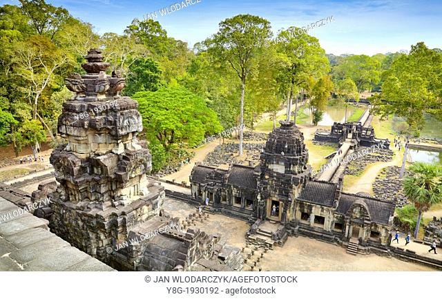 Angkor Temples Complex - Baphuon Temple, Angkor Thom, Cambodia, Asia