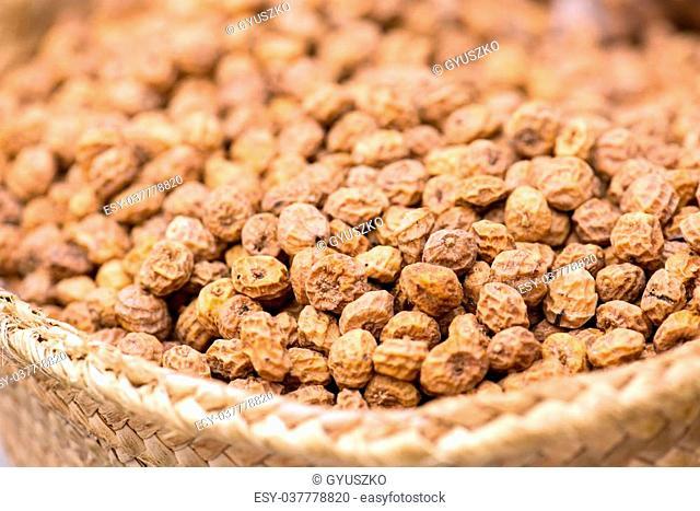 Tigernuts ( Chufa ) On The Spanish Market