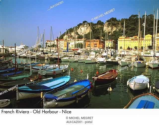 French Riviera - Old Harbour - Nice