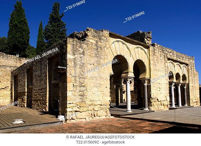 Cordoba (Spain). House of the Viziers in the city Califal de Medina Azahara