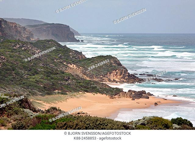 Castle Cove along the Great Ocean Road. Victoria, Australia