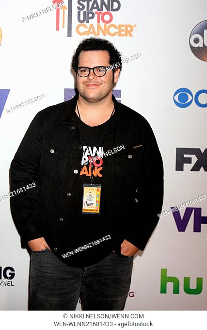 e5e36b320d8 Stand Up 2 Cancer Telecast Arrivals 2014 Featuring  Josh Gad Where  Los  Angeles
