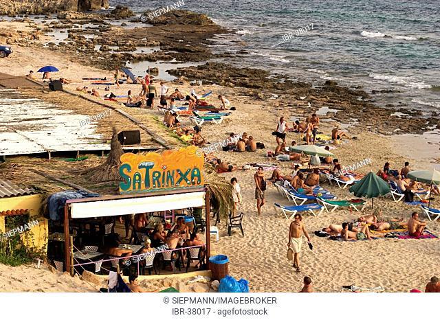 Platja de ses Salines = Platja de Migjorn - Kiosco sa Trinxa - Ibiza