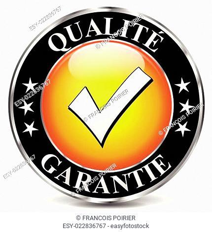 Vector quality icon