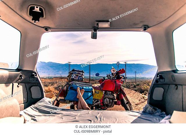 Camping in Bishop, California, USA