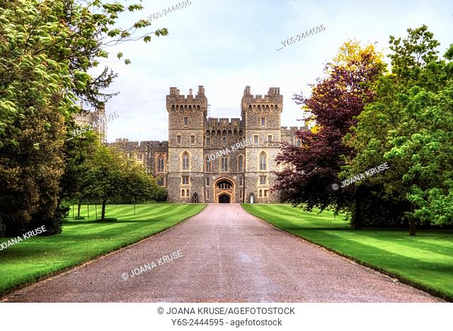 Windsor Castle, Windsor, Berkshire, England, UK