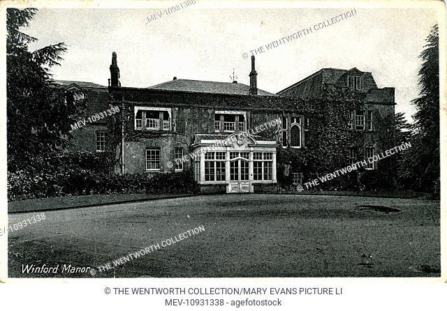 Winford manor, Winford, Bristol, near Chew Magna, Somerset, England