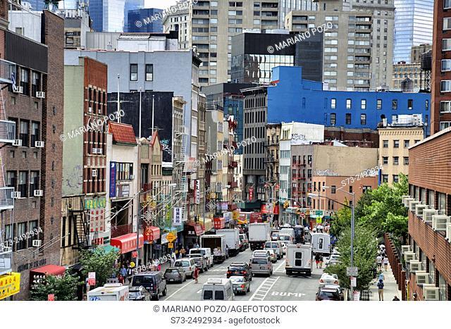 China Town (Lower Manhattan). New York City. USA