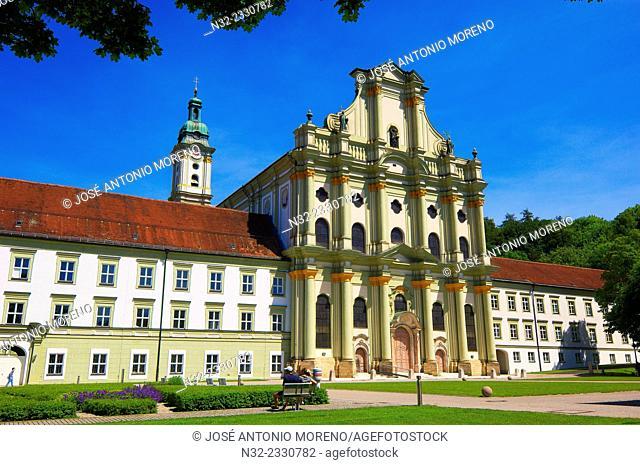 Fuerstenfeld monastery, Former monastery, Fuerstenfeldbruck, Bavaria, Germany, Europe