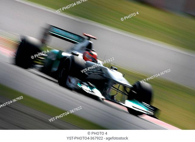 Friday Practice 1, Michael Schumacher GER, Mercedes GP Petronas F1 Team, MGP W02, F1, Japanese Grand Prix, Suzuka, Japan