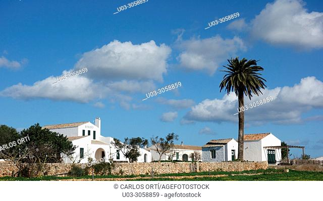 Traditional house of Ibiza Island, Balearic islands, Spain, europe