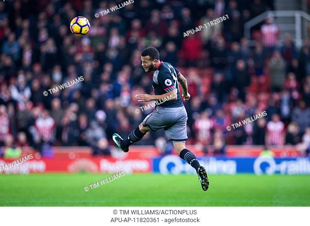2016 Premier League Football Stoke v Southampton Dec 14th. 14.12.2016. Bet365 Stadium, Stoke, England. Premier League Football