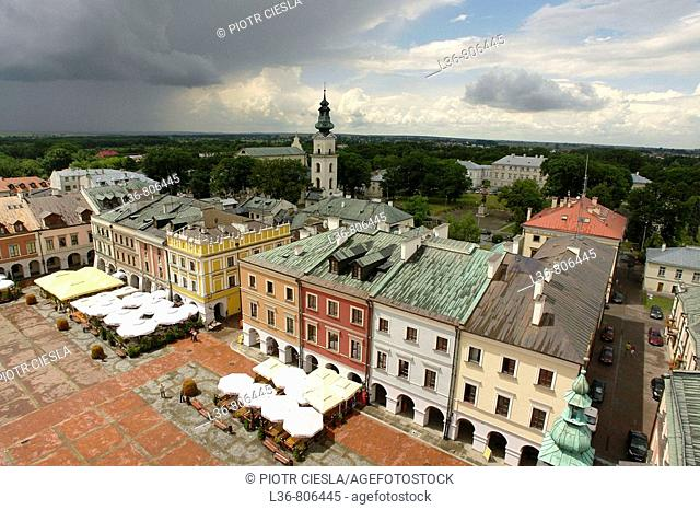 Zamosc is a renensance town built in the beginiing of XVII Century by Jan Zamojski