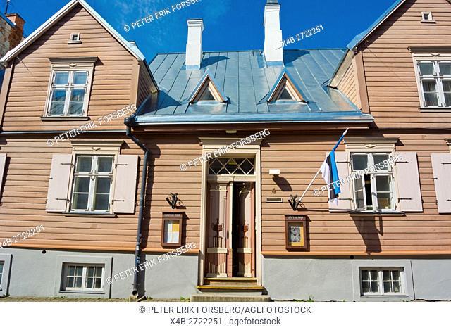 Tampere maja, Tampere house, inn and sauna, old town, Tarto, Estonia, Baltic States, Europe