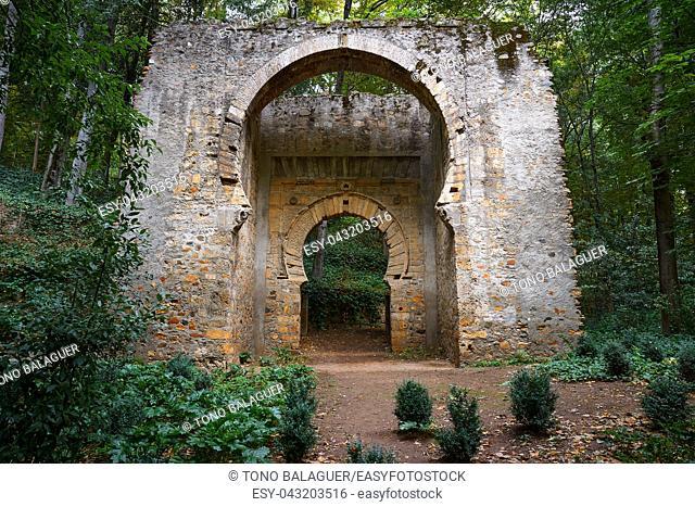 Puerta de Birrambla door arch in Alhambra of Granada also called Bib Rambla