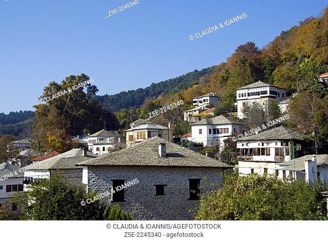The mountain village of Visitza, Pelion Peninsula, Thessaly, Greece