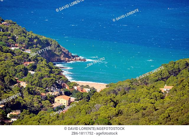 Beach of Begur Catalunya