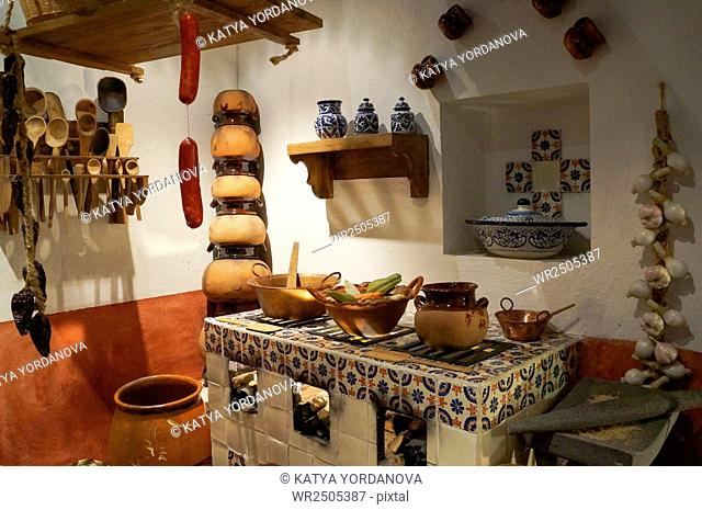 Old mexican kitchen
