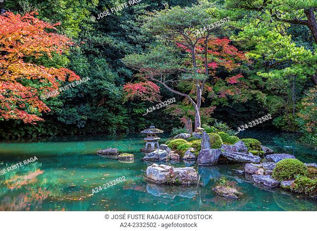 Japan , Kyoto City, Shoren In Temple, the garden