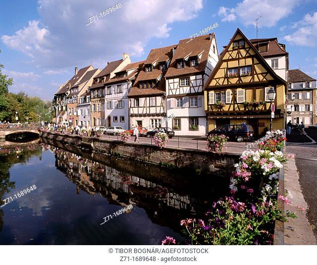 France Alsace Colmar Quartier des Tanneurs