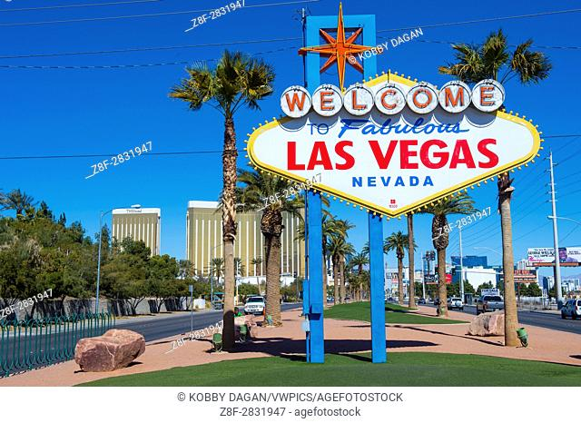 The Welcome to Las Vegas Sign in Las Vegas