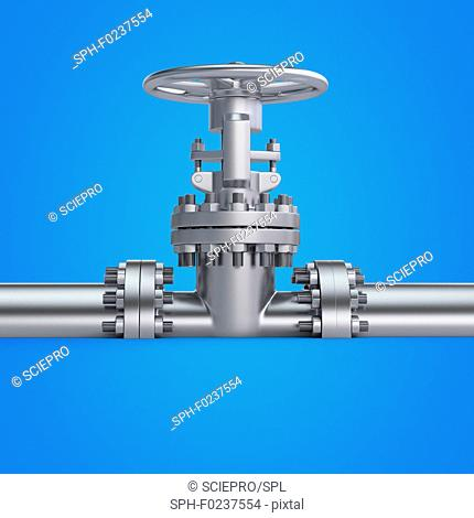 Illustration of a valve