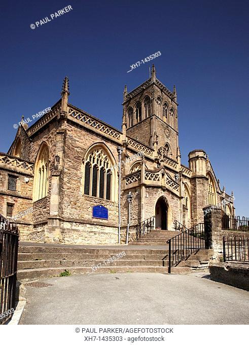 The Church of St John the Baptist, Axbridge, Somerset, England