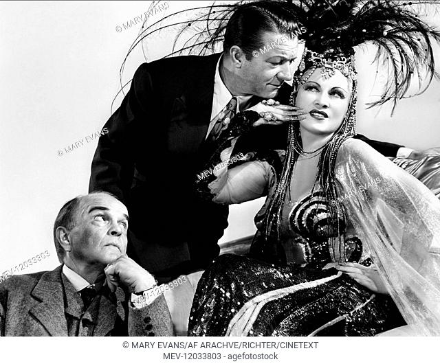 'Victor Moore, William Gaxton & Mae West Characters: Hubert Bainbridge, Tony Ferris, Fay Lawrence Film: The Heat'S On; Tropicana (1944) Director: Gregory Ratoff...