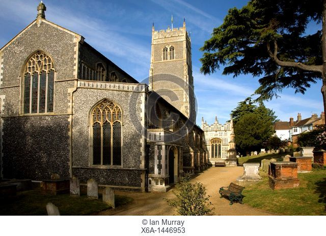 Church of St Mary, Woodbridge, Suffolk, England