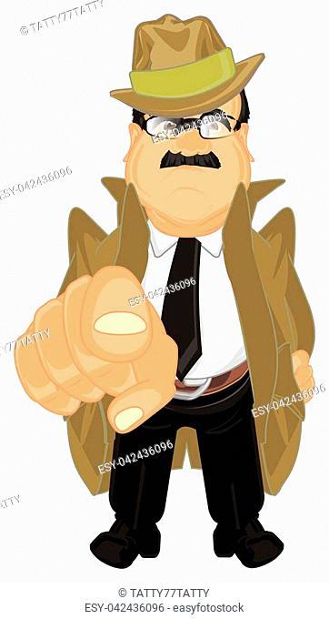 sad detective show gesture hey, you