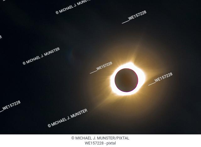 Solar eclipse that took place on August 21, 2017