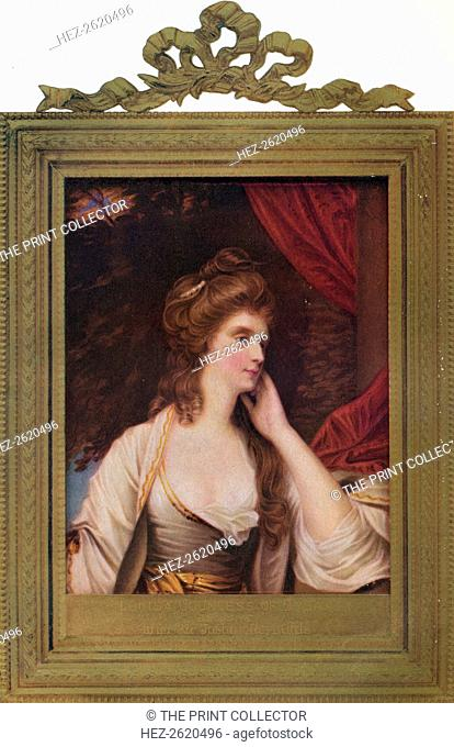 Louisa Manners (nee Tollemache), 7th Countess of Dysart, 1779, (1907). Artist: Henry Bone