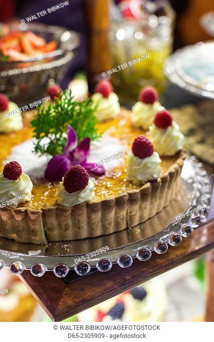 Australia, Victoria, VIC, Melbourne, The Block Arcade, Hopetoun Tea Rooms, pastries
