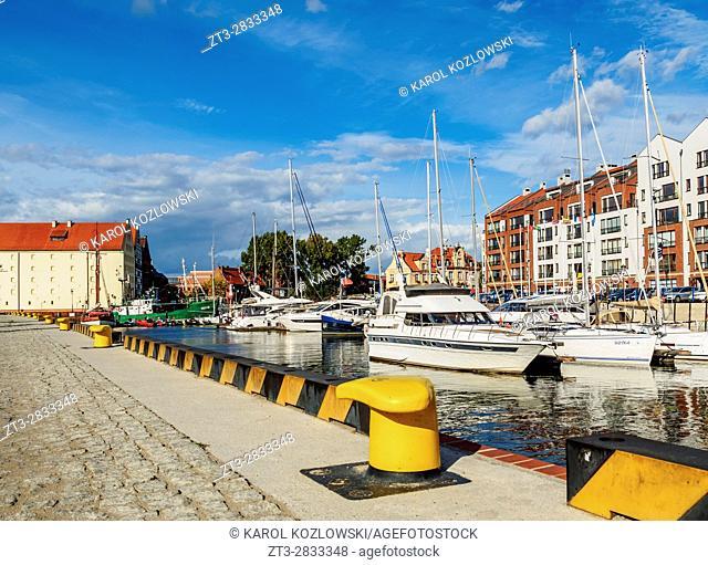 Poland, Pomeranian Voivodeship, Gdansk, Old Town, Marina Gdansk