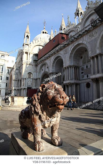 Saint Mark's Basilica, Venice, Italy