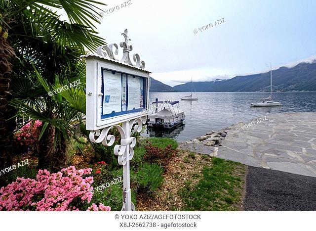 Switzerland, Canton Ticino, Ascona, Lake Maggiore