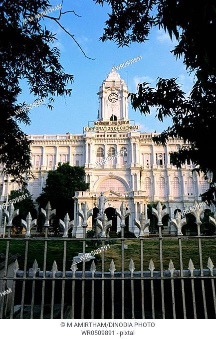 Ripon building corporation of Madras Chennai , Tamil Nadu , India
