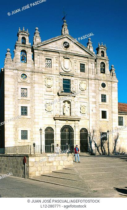 Church of Santa Teresa. Ávila. Spain